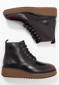Timberland - BELL LANE LACE UP - Ankle Boot - dark red - 3