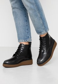Timberland - BELL LANE LACE UP - Boots à talons - mid grey - 0