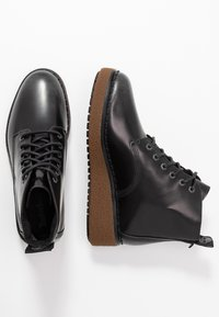 Timberland - BELL LANE LACE UP - Boots à talons - mid grey - 3