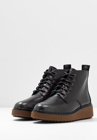 Timberland - BELL LANE LACE UP - Boots à talons - mid grey - 4
