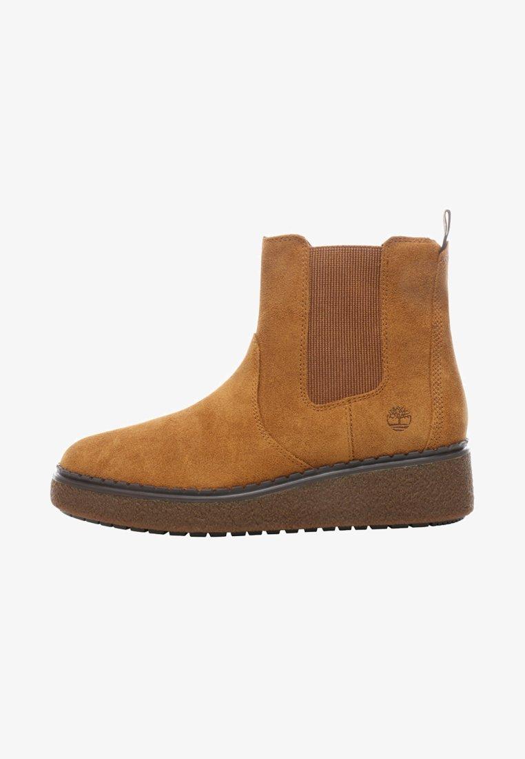 Timberland - BELL LANE - Platform ankle boots - dark sand