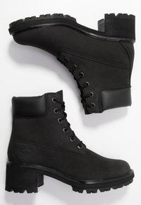 Timberland - KINSLEY 6 IN WP BOOT - Lace-up ankle boots - black - 3