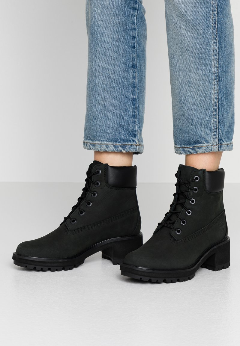 Timberland - KINSLEY 6 IN WP BOOT - Lace-up ankle boots - black