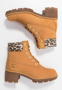 Timberland - KINSLEY WP BOOT - Schnürstiefelette - wheat - 3