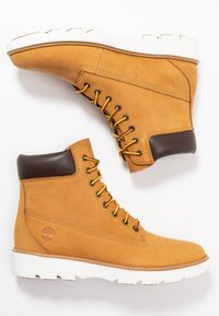 Timberland - KEELEY FIELD 6IN - Lace-up ankle boots - wheat - 3