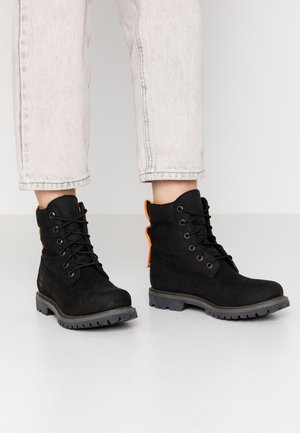 6IN PREMIUM REBOTL WP - Lace-up ankle boots - black