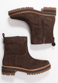 Timberland - COURMAYEUR VALLEY  - Kotníkové boty - dark brown - 3
