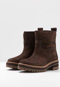 Timberland - COURMAYEUR VALLEY  - Kotníkové boty - dark brown - 4