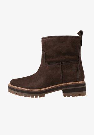 COURMAYEUR VALLEY  - Korte laarzen - dark brown