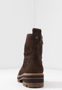 Timberland - COURMAYEUR VALLEY  - Kotníkové boty - dark brown - 5