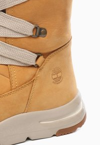 Timberland - MABEL TOWN WP TALL MUKLUK - Lace-up boots - tan - 5