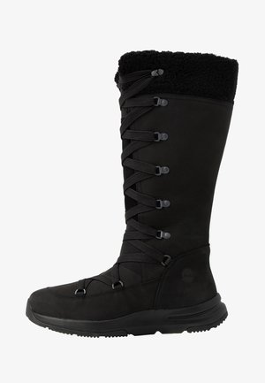 MABEL TOWN WP TALL MUKLUK - Lace-up boots - black