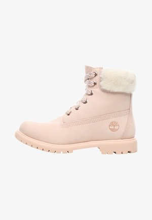 6IN PREMIUM - Lace-up ankle boots - cameo rose