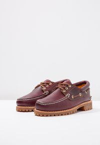 Timberland - AUTHENTICS  - Boat shoes - burgundy - 2