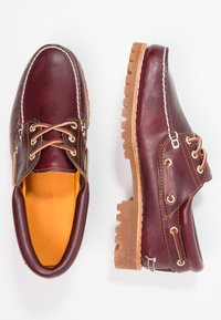 Timberland - AUTHENTICS  - Boat shoes - burgundy - 1