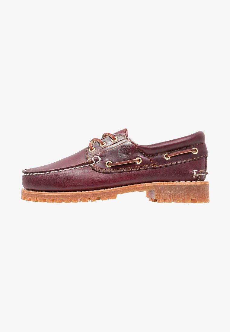 Timberland - AUTHENTICS  - Boat shoes - burgundy