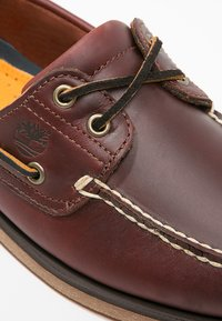 Timberland - CLASSIC 2 EYE - Chaussures bateau - rootbeer - 9