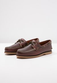 Timberland - CLASSIC 2 EYE - Chaussures bateau - rootbeer - 3