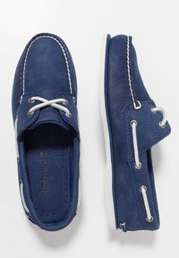 Timberland - CLASSIC 2 EYE - Boat shoes - dark blue - 3