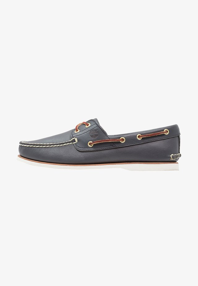 CLASSIC - Boat shoes - navy