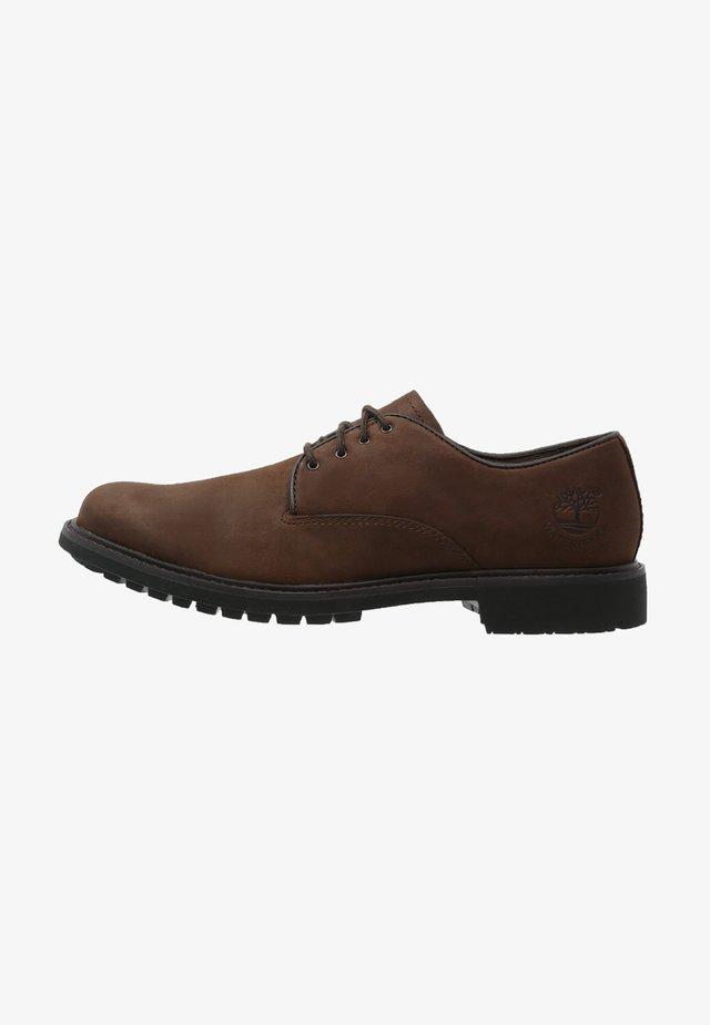 STORMBUCKS - Oksfordki - burnished dark brown