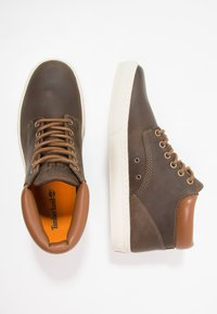 Timberland - ADVENTURE 2.0 CUPSOLE - Sneakersy wysokie - dark olive/roughcut - 1