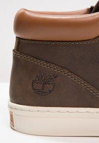 Timberland - ADVENTURE 2.0 CUPSOLE - Sneakersy wysokie - dark olive/roughcut - 5