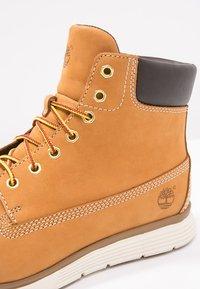 Timberland - KILLINGTON - Lace-up ankle boots - wheat - 5