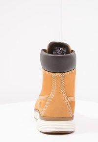 Timberland - KILLINGTON - Lace-up ankle boots - wheat - 3