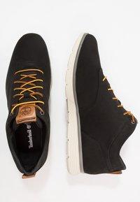 Timberland - KILLINGTON HALF CAB - Zapatos con cordones - black - 1