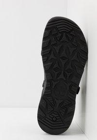Timberland - RIPCORD 2 STRAP  - Sandals - black - 4