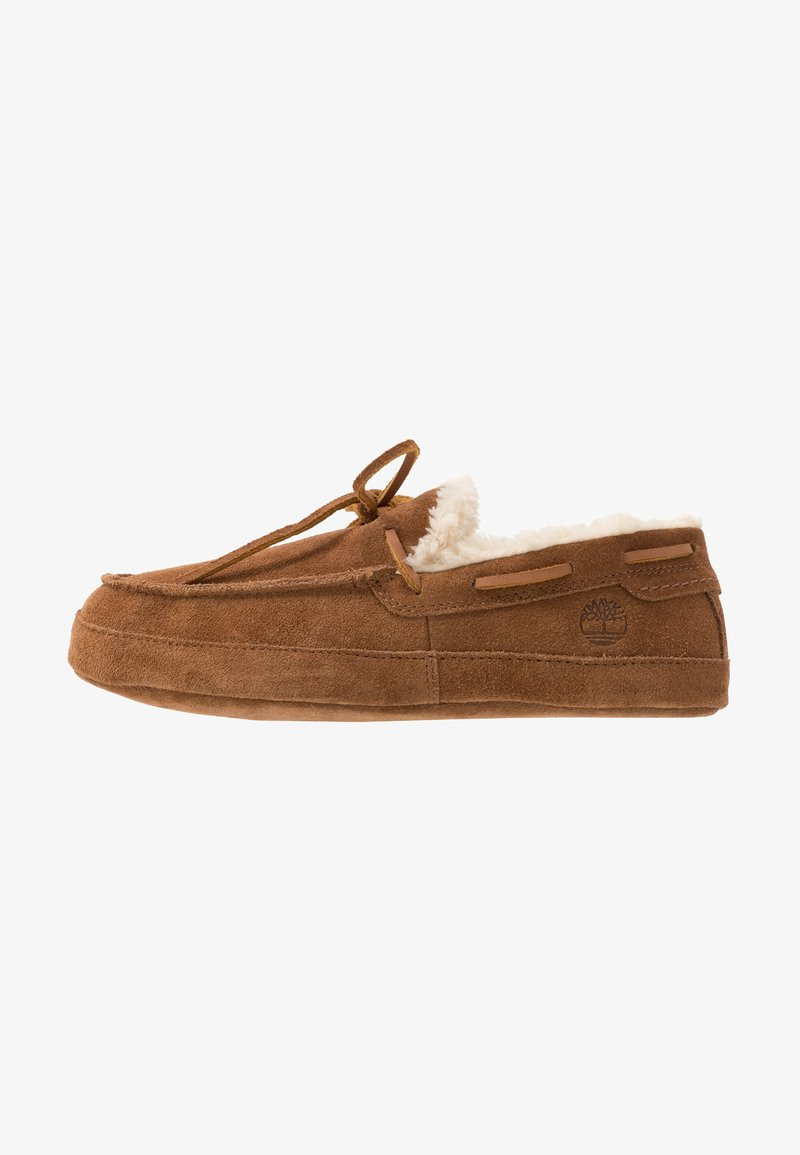 Timberland - TORREZ SLIPPER MOCCASIN - Chaussons - rust