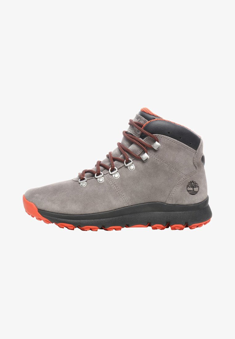 Timberland - WORLD HIKER MID - Lace-up ankle boots - steeple grey