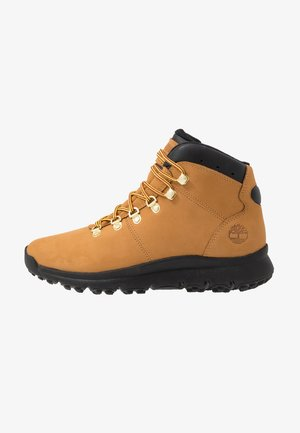 WORLD HIKER MID - Schnürstiefelette - wheat