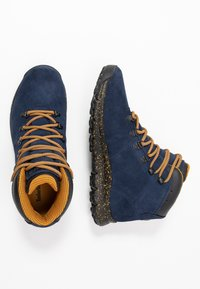 Timberland - WORLD HIKER MID - Lace-up ankle boots - navy - 1