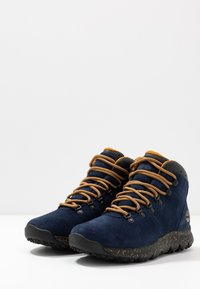 Timberland - WORLD HIKER MID - Lace-up ankle boots - navy - 2