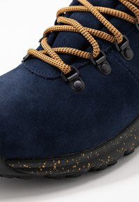 Timberland - WORLD HIKER MID - Lace-up ankle boots - navy - 5