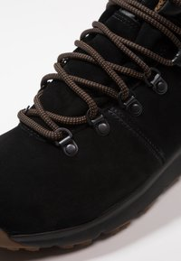 Timberland - WORLD HIKER MID - Lace-up ankle boots - black - 5
