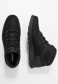 Timberland - BRADSTREET HIKER - Lace-up ankle boots - black - 1