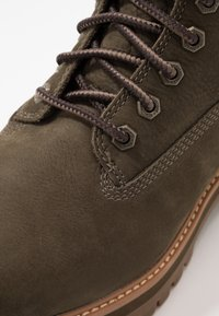 Timberland - COURMA GUY BOOT WP - Lace-up ankle boots - olive - 5