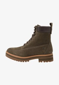 Timberland - COURMA GUY BOOT WP - Lace-up ankle boots - olive - 0