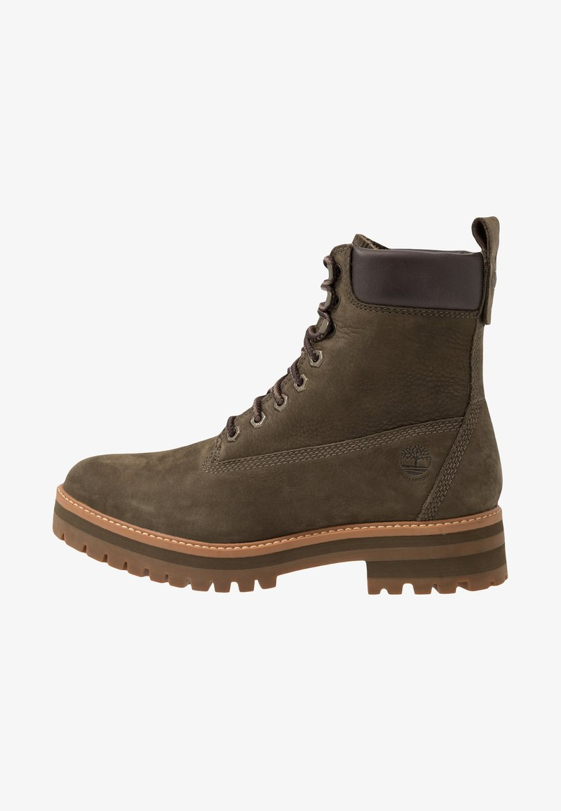 Timberland - COURMA GUY BOOT WP - Lace-up ankle boots - olive