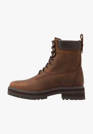 COURMA GUY BOOT WP - Lace-up ankle boots - dark brown