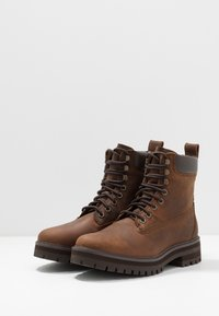 Timberland - COURMA GUY BOOT WP - Lace-up ankle boots - dark brown - 2