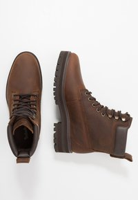 Timberland - COURMA GUY BOOT WP - Lace-up ankle boots - dark brown - 1