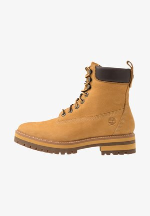 COURMA GUY BOOT WP - Snörstövletter - medium brown