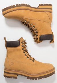 Timberland - COURMA GUY BOOT WP - Lace-up ankle boots - medium brown - 1