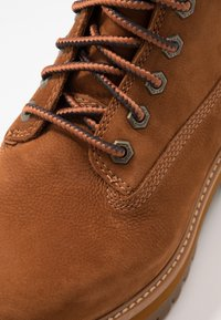 Timberland - COURMA GUY BOOT WP - Lace-up ankle boots - rust - 5