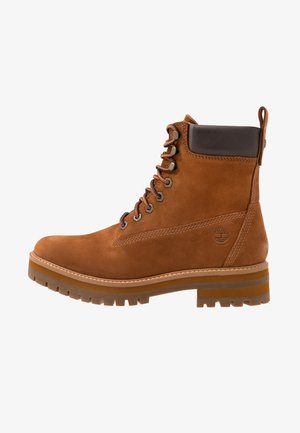 COURMA GUY BOOT WP - Lace-up ankle boots - rust