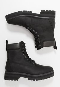 Timberland - COURMA GUY BOOT WP - Lace-up ankle boots - black - 1